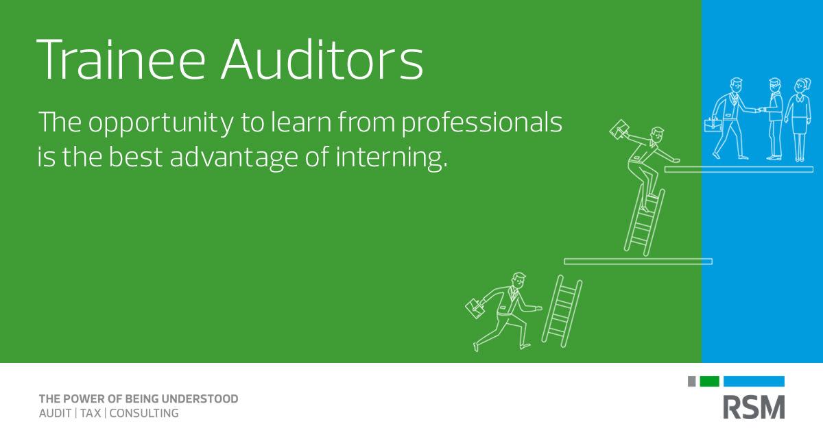 Trainee Auditors