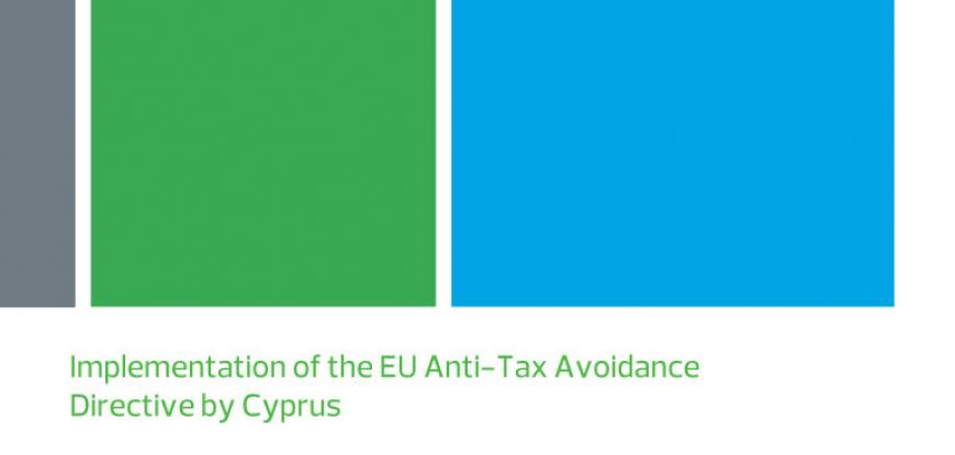Implementation of the EU Anti-Tax Avoidance Directive by Cyprus