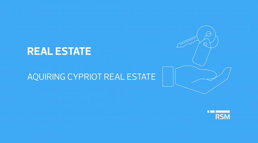 Acquiring Cypriot Real Estate