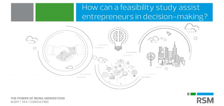 Feasibility studies can assist entrepreneurs in decision-making