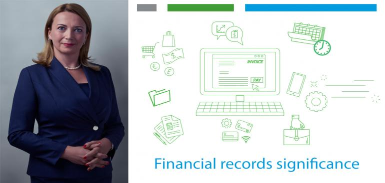 The significance of keeping accurate financial records