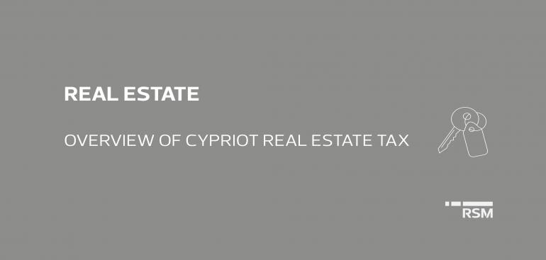 Overview of Cypriot Real Estate