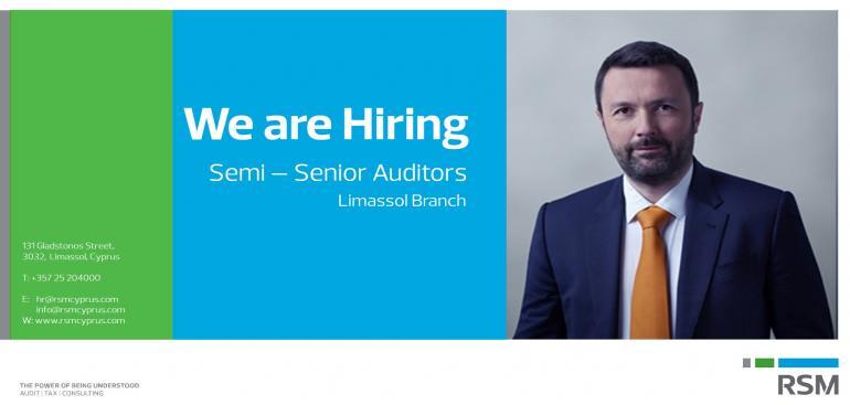 We are Hiring Semi_Senior_Auditors