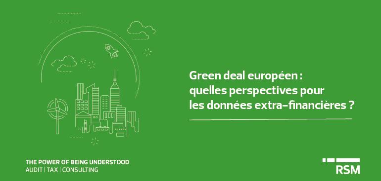 Green deal européen : quelles perspectives pour les données extra-financières ?