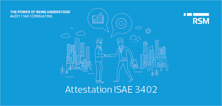 Attestation ISAE 3402