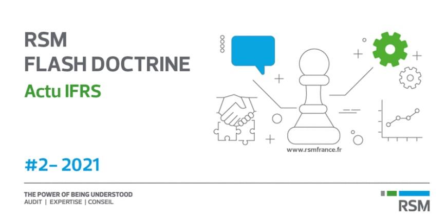 Flash Doctrine Actu IFRS