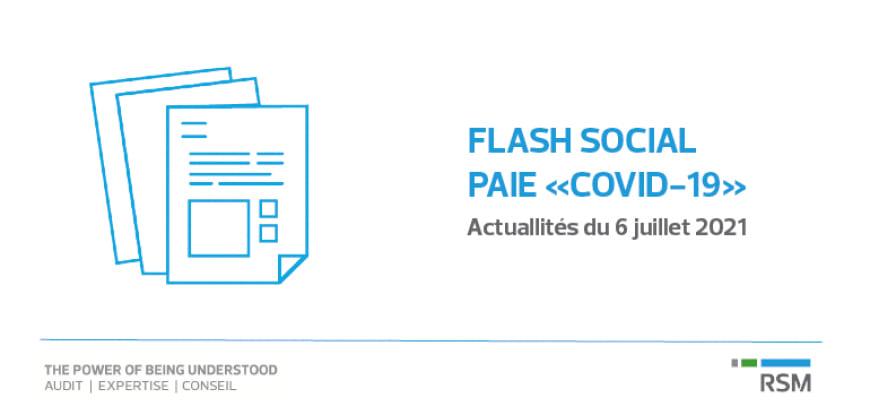 Flash social - Paie Covid 19