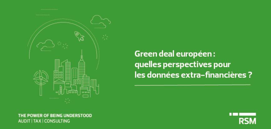 Green deal européen reporting ESG