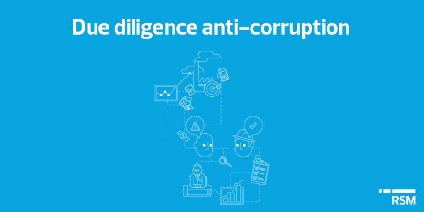 Due diligence anti-corruption