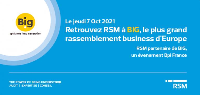 BIG 2021 – RSM partenaire de BPI inno Generation
