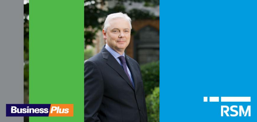 Aidan Byrne appears in the Business Plus Tax Advisers edition