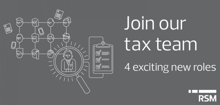 Accounting jobs in our growing Tax team