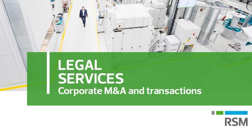 Il team Legal di RSM Studio Palea Lauri Gerla ha assistito la società Briseide S.r.l. in operazione di finanziamento