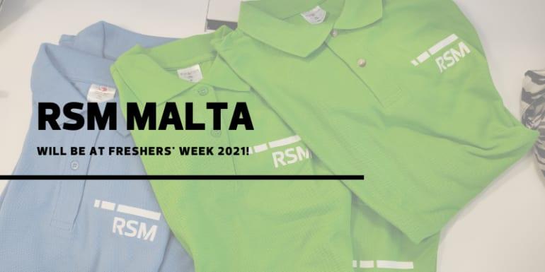RSM at Freshers' Week 2021