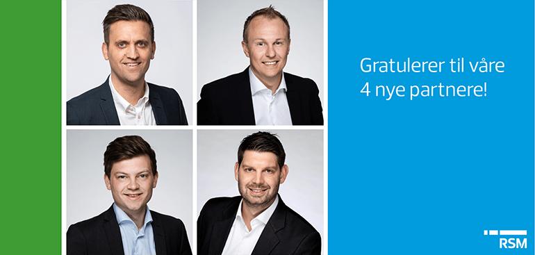Nye partnere i RSM Norge