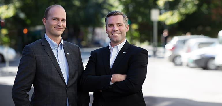 Petter Gravdal og Anders Magus Løvaas, RSM Norge