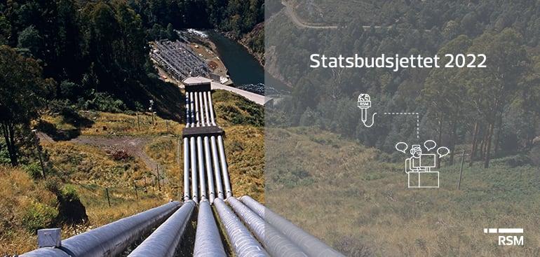 Statsbudsjettet 2022: Grunnrenteskatt for vannkraft