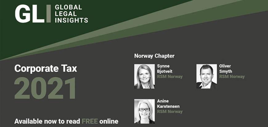 Global Legal Insights (GLI) – Corporate Tax 2021 Norway