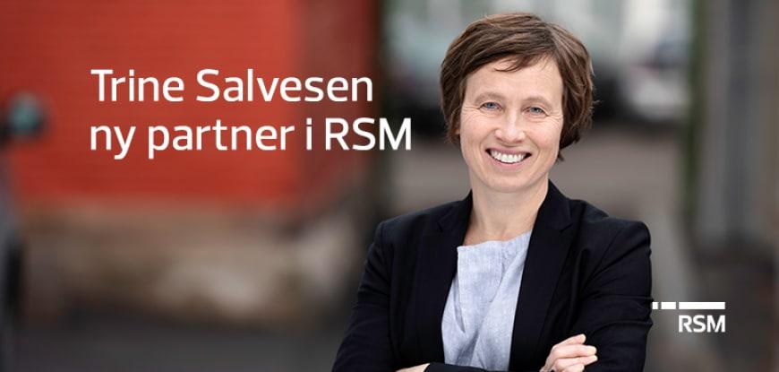 Trine Salvesen ny partner i RSM