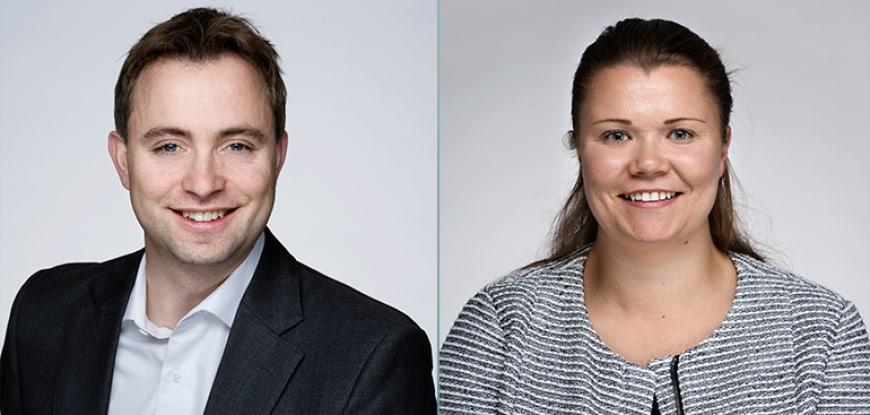 Morten Hereng Christophersen og Kristin Walberg