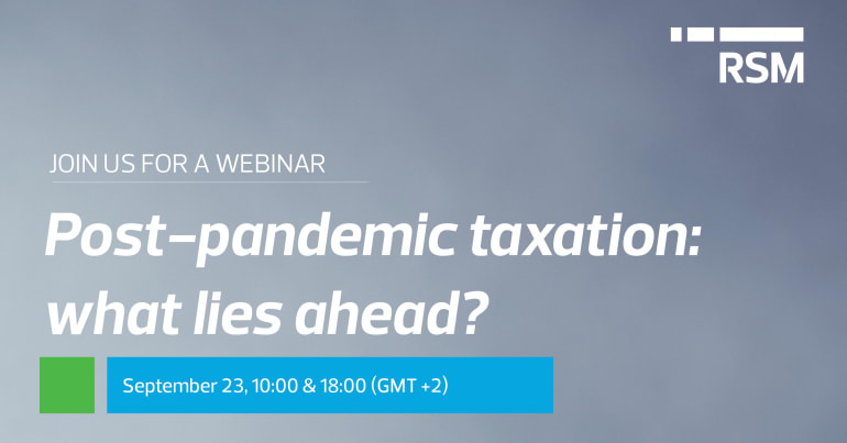 Post-pandemic taxation: what lies ahead