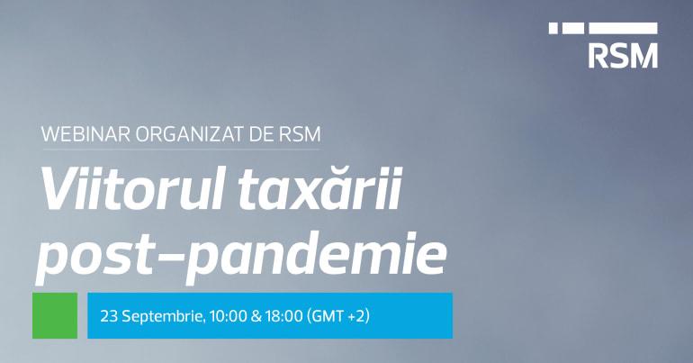 Viitorul taxării post-pandemie