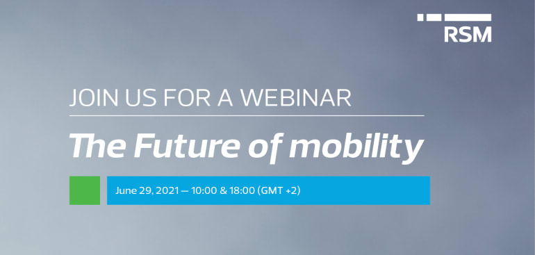 Webinar RSM: The Future of Mobility