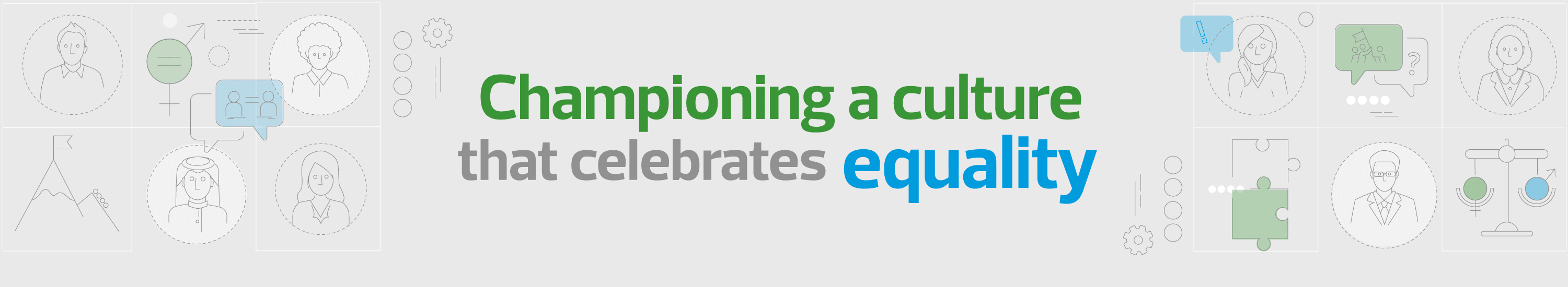 Championing a culture that celebrates equality