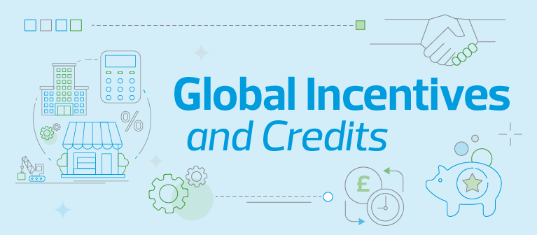 Global Incentives and Credits Banner