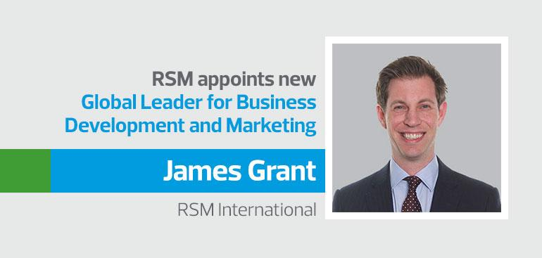 Powering up for growth - RSM appoints new global business development and marketing leader