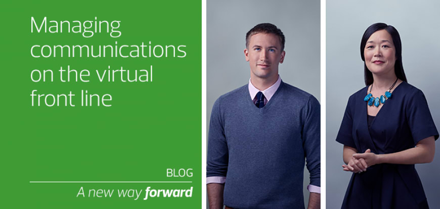 Managing communications on the virtual front line