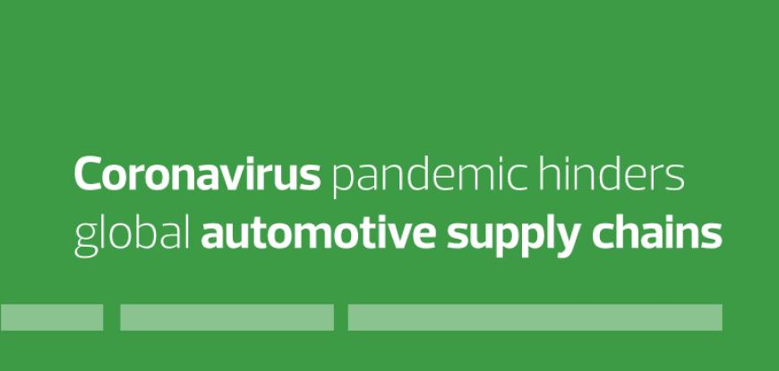 Coronavirus pandemic hinders global automotive supply chains