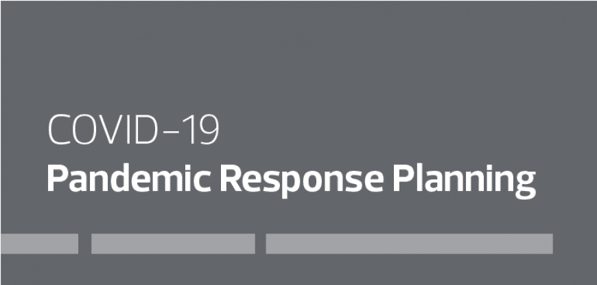 COVID-19 Pandemic Response Planning