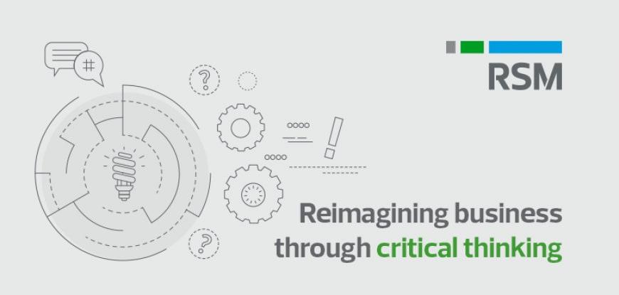 Reimagining business through critical thinking