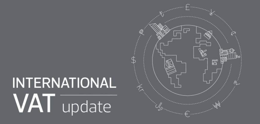 International VAT Update – July 2020