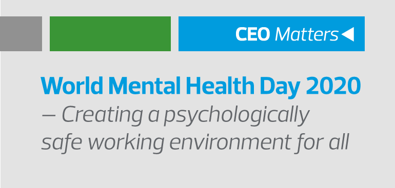 Creating a psychologically safe working environment for all