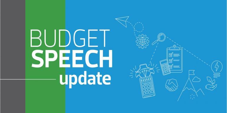 Budget Speech Update 2021