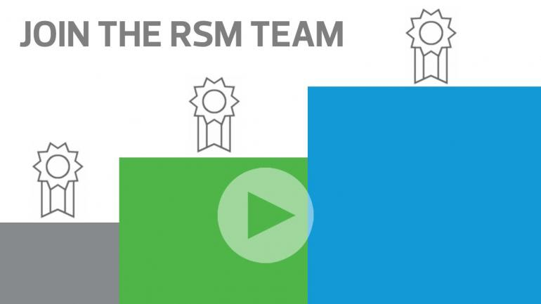 Join the RSM team