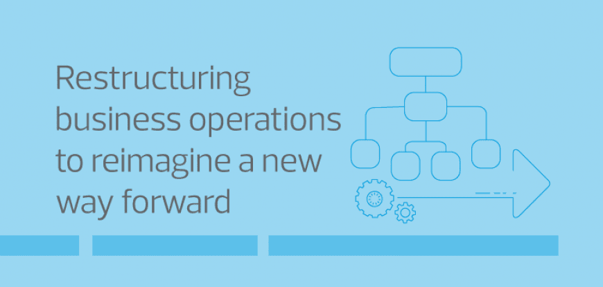 Restructuring business operations