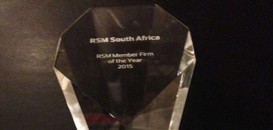 RSM Member Firm of the Year Award