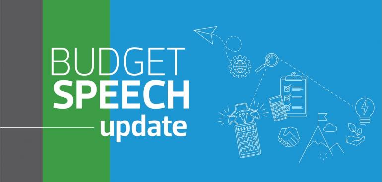 Budget Speech Update 2021