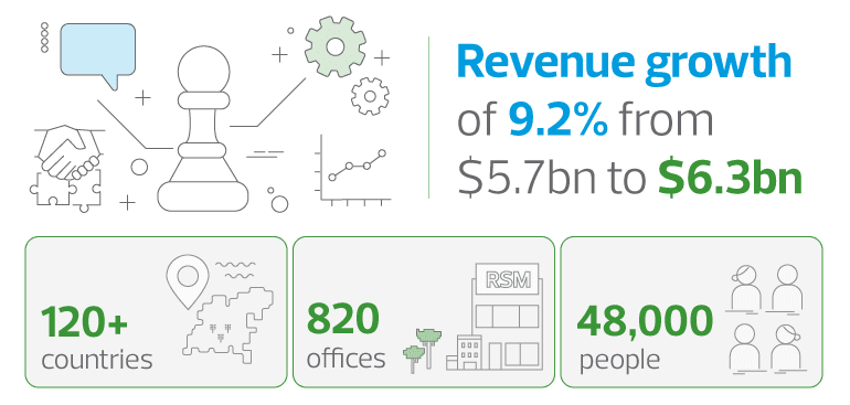 RSM Global financial results