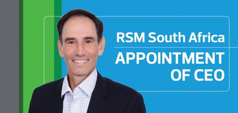 RSM South Africa CEO Dieter Schulze