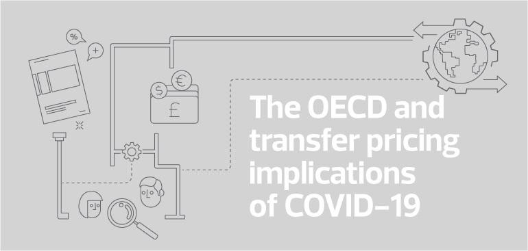 OECD Guidance on Transfer Pricing implications for taxpayers