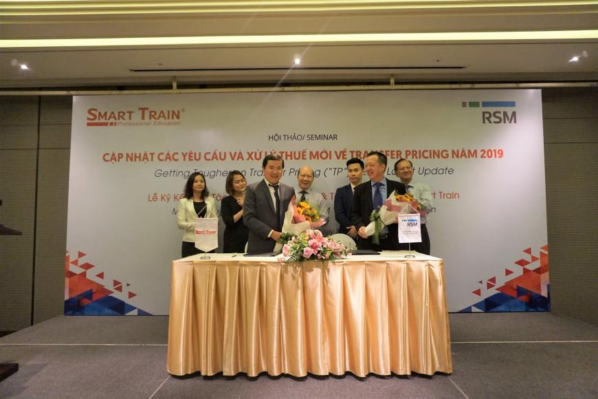 RSM Vietnam signed MoU with Smart Train