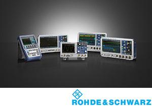 Rohde & Schwarz oscilloscopen