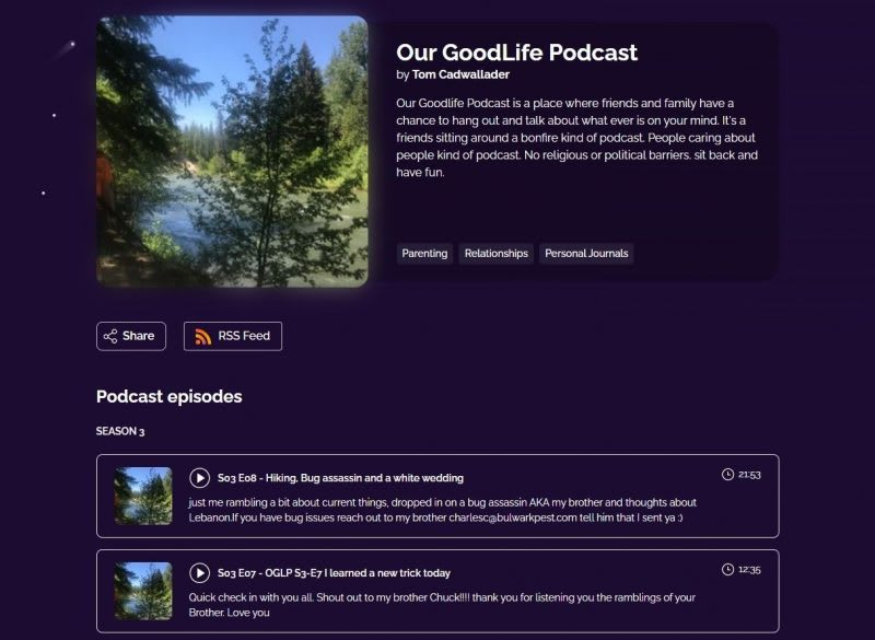 our goodlife podcast