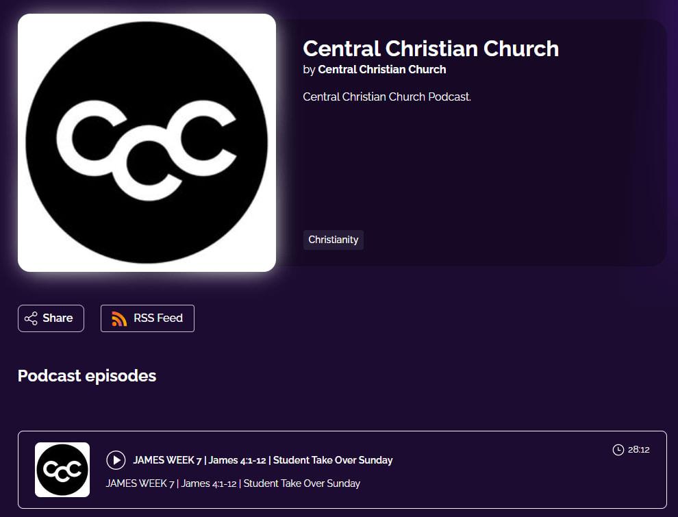 Central Christian Church by Central Christian Church