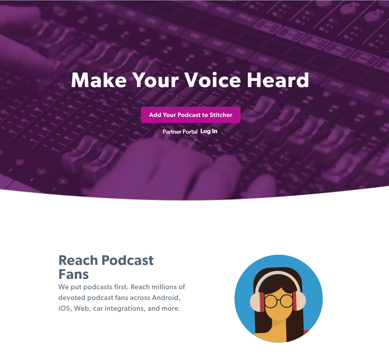 How to Submit Podcast to Stitcher Add Your Show