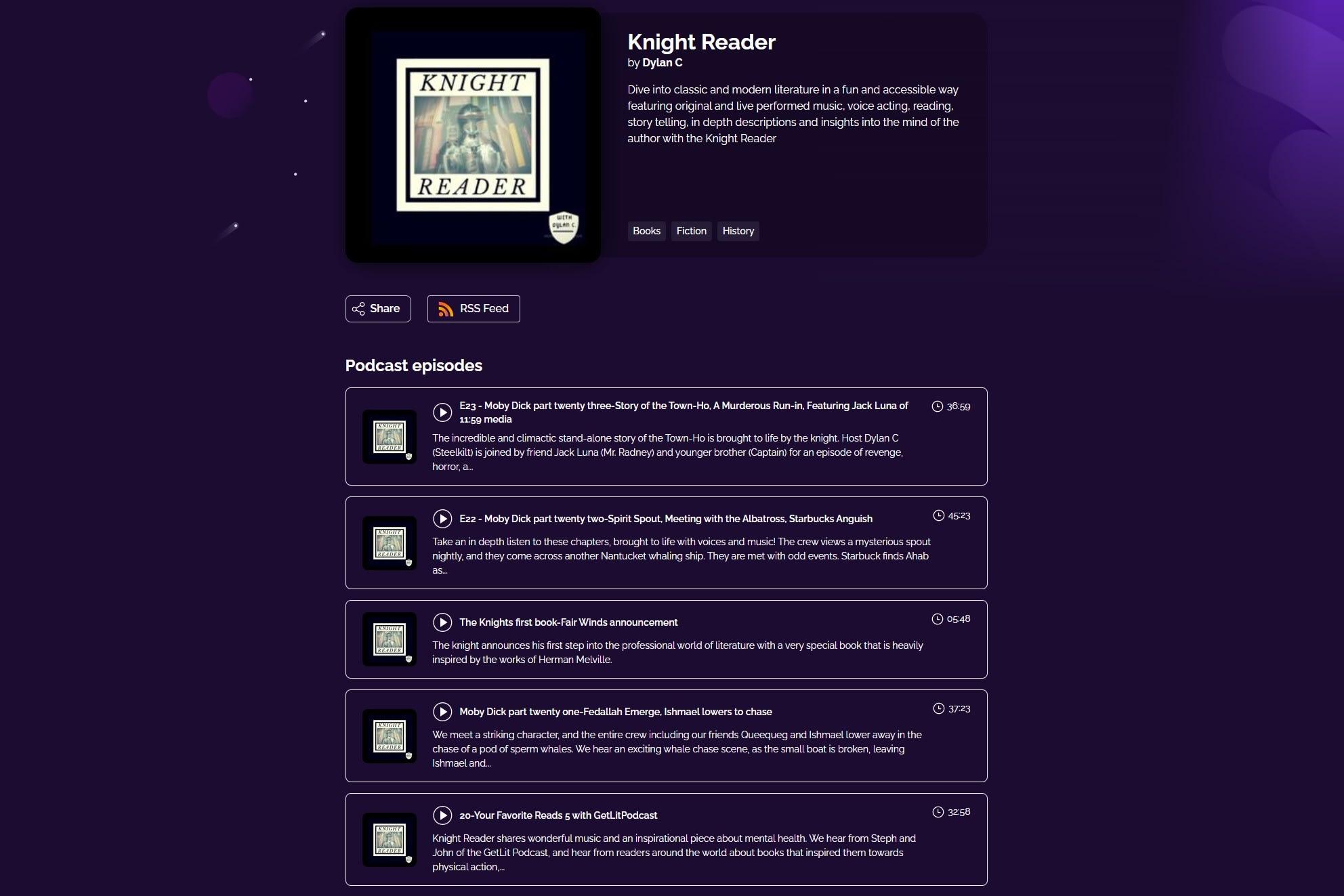 knight reader podcast
